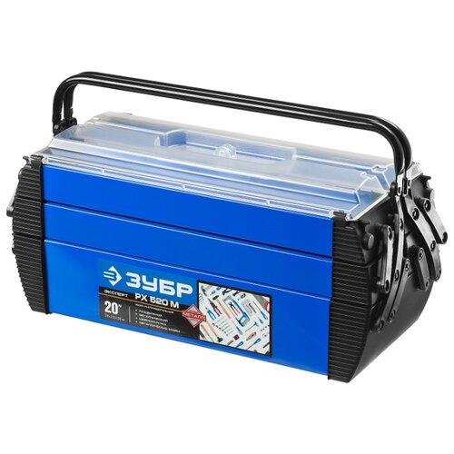Ящик ЗУБР Дока (38163-20) 51.5x21x23 см 20'' синий/черный