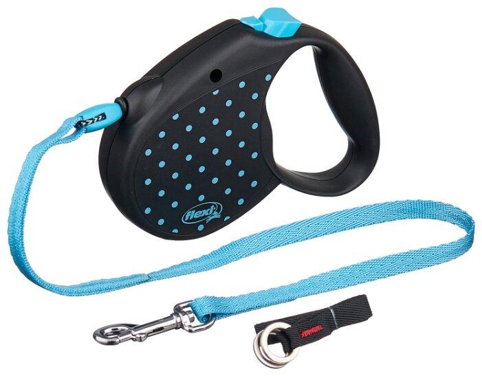 Поводок-рулетка для собак Flexi Color S тросовый