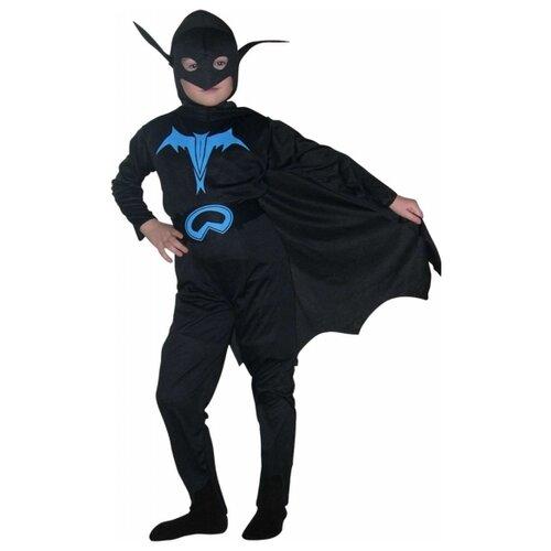 Купить Костюм SNOWMEN Бэтмэн (Е40193), черный, размер 11-14 лет, Карнавальные костюмы