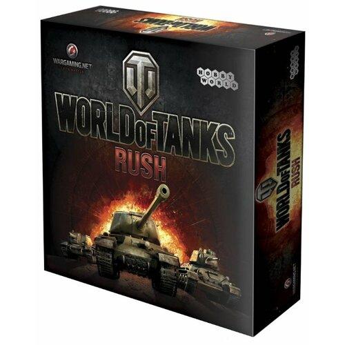 Купить Настольная игра HOBBY WORLD World of Tanks: Rush (2е изд-е.), Настольные игры