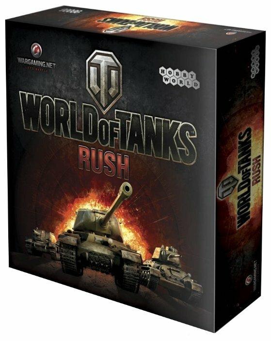 Настольная игра HOBBY WORLD World of Tanks: Rush (2е изд-е.) — купить по выгодной цене на Яндекс.Маркете