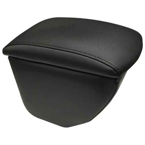 Подлокотник передний Honda Fit 2001-2008 экокожа чёрный-чёрный подлокотник передний honda jazz 2001 экокожа чёрно синий