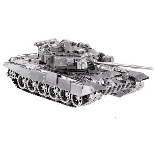 Металлический 3D конструктор Metal Earth, Танк Т-90А, ICX047