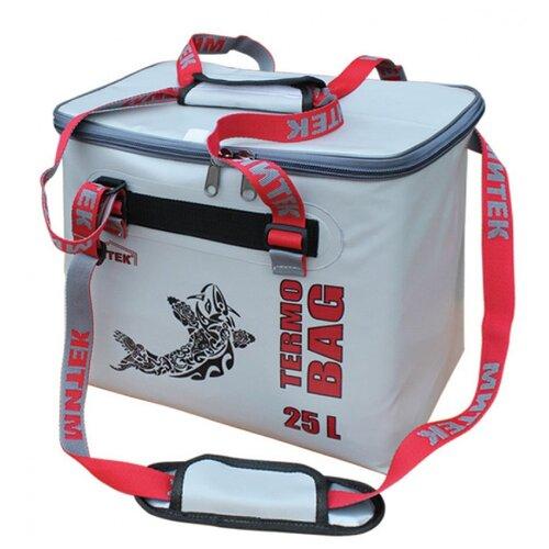 Фото - Сумка-Термос Митек бокс 015л (30х21х29см) с крышкой серый сумка рыболовная митек с крышкой овал 40х20х40 серый