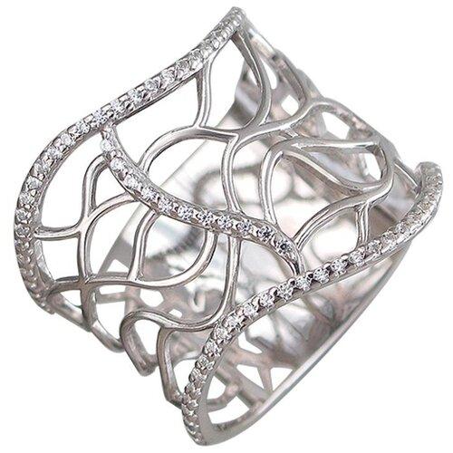 Эстет Кольцо из серебра С3К152800, размер 17.5