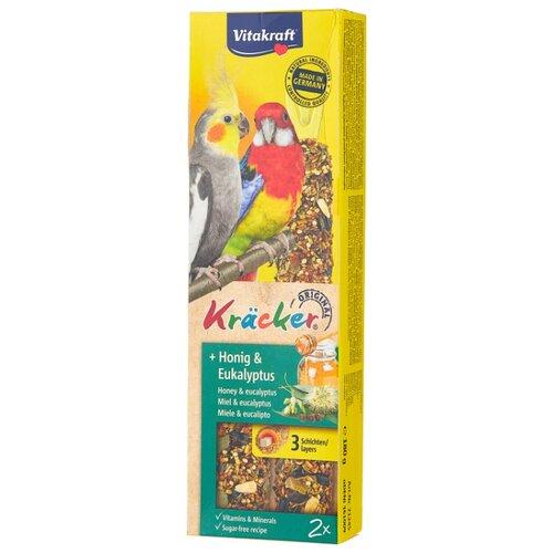 Лакомство для птиц Vitakraft Крекеры для австралийских попугаев медовые (21245) 180 г