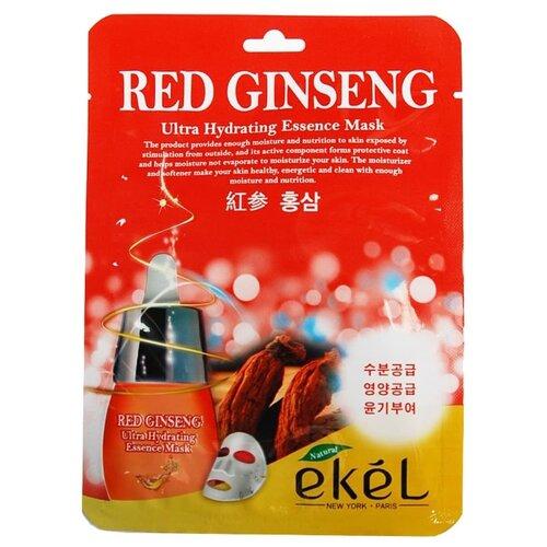 Ekel Red Ginseng Ultra Hydrating Essence Mask Тканевая маска Красный Женьшень, 25 мл