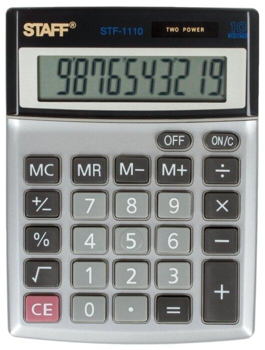 Калькулятор бухгалтерский STAFF STF-1110