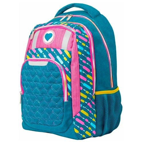 Action! Рюкзак AB11161, синий/розовый