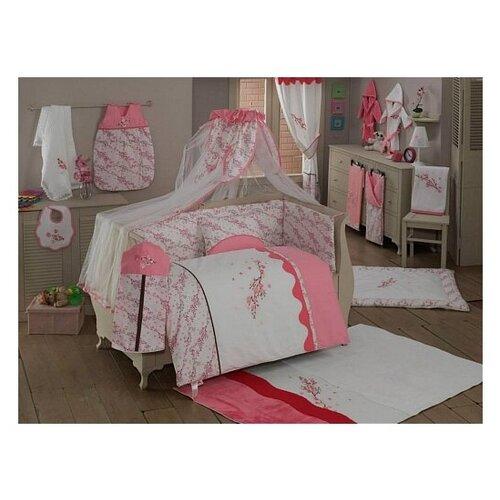 Купить Комплект из 6 предметов серии Bello Fiore (Pink), Kidboo, Постельное белье и комплекты