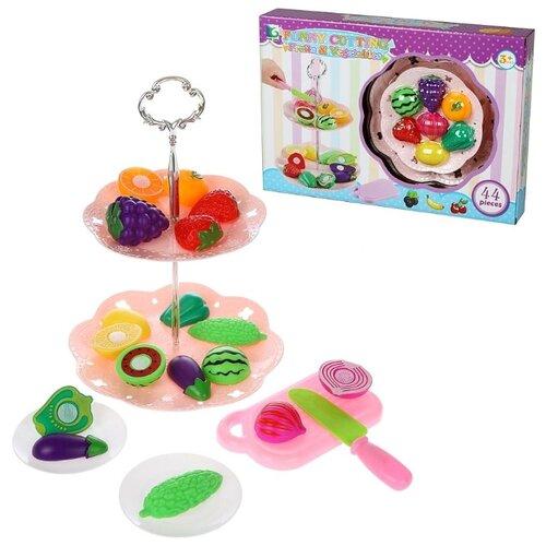 Купить Набор продуктов с посудой Наша игрушка Продукты 642584 в ассортименте, Игрушечная еда и посуда