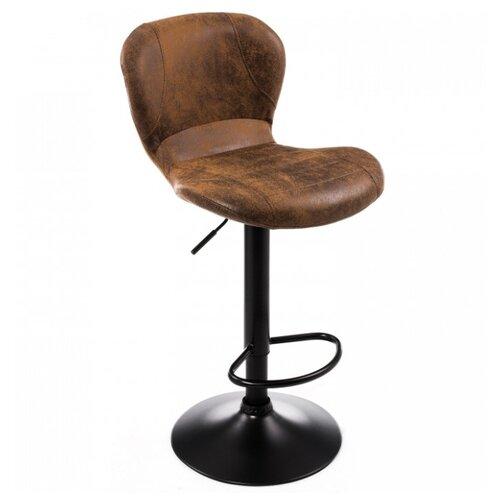 Стул Woodville Hold, металл/искусственная кожа, цвет: vintage red brown