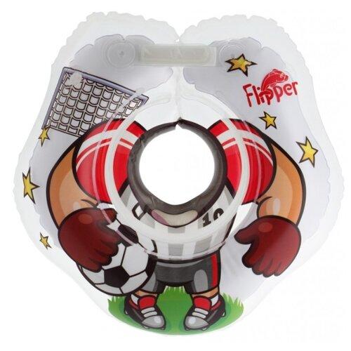 Круг на шею ROXY-KIDS Футболист FL010 белый