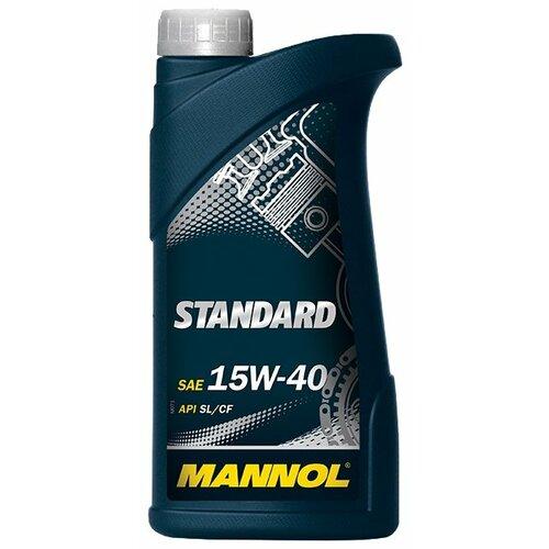 Фото - Минеральное моторное масло Mannol Standard 15W-40 1 л минеральное моторное масло mannol diesel 15w 40 7 л