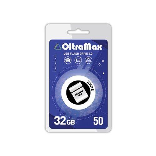Фото - Флешка OltraMax 50 32GB white 1 шт. флешка oltramax 50 8gb white