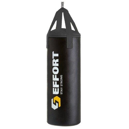 Мешок боксёрский Effort E125 черный мешок боксёрский ufc боксерский 45 кг без наполнителя черный