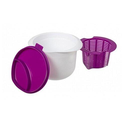 Фото - Аппарат для приготовления домашнего творога и сыра Нежное лакомство, цвет: фиолетовый торты домашнего приготовления
