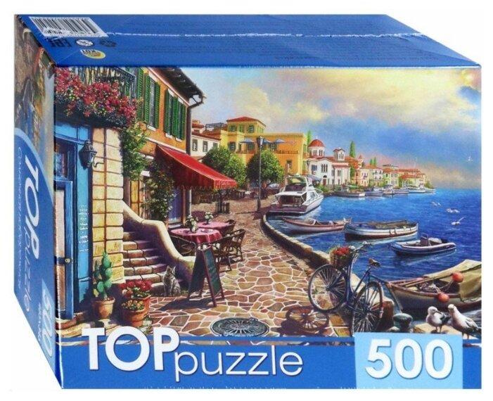 Пазл Рыжий кот TOP puzzle Солнечная набережная (ХТП500-4225), 500 дет.