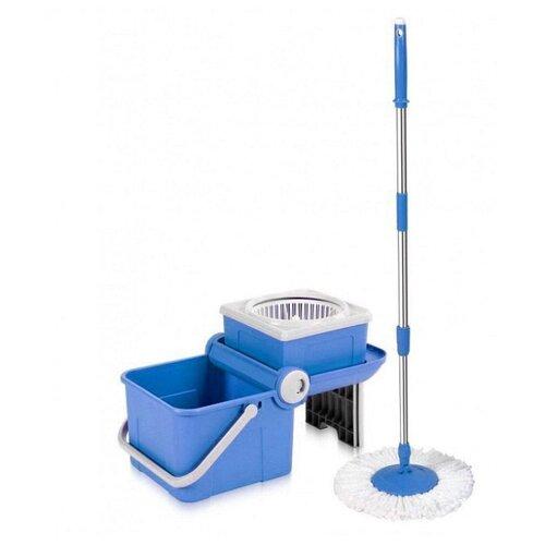 Набор Keya Spin Mop Mini Transformer синий/белый