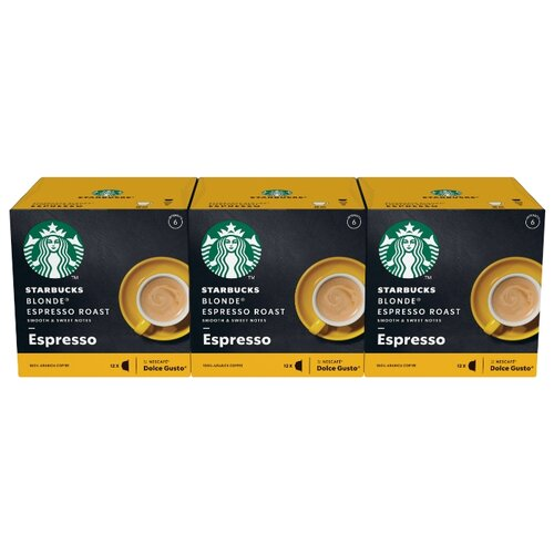 Кофе в капсулах Starbucks Blonde® Espresso Roast (36 капс.) keepcup кружка keepcup roast