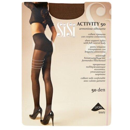 Колготки Sisi Activity 50 den, размер 3-M, naturelle (бежевый) колготки sisi activity 70 den