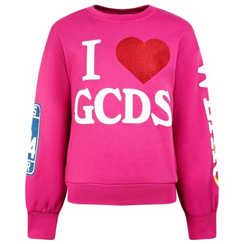 Купить Свитшот GCDS размер 152, розовый, Толстовки
