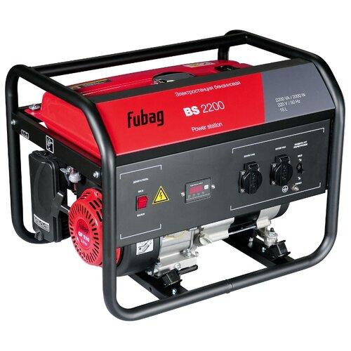 Бензиновый генератор Fubag BS 2200 (2000 Вт)