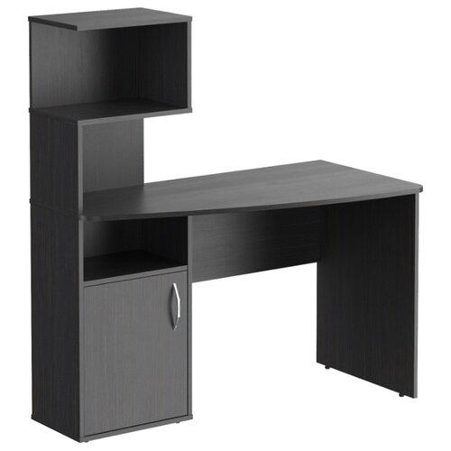 Компьютерный стол угловой Skyland CD 1213(L), 120х60 см, угол: справа, тумба: слева, цвет: Легно темный