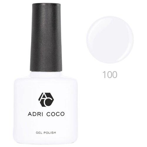 Купить Гель-лак для ногтей ADRICOCO Gel Polish, 8 мл, 100 белый