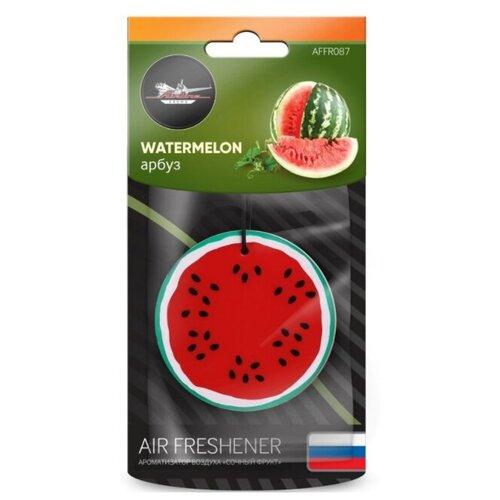 Фото - Ароматизатор подвесной пластик Сочный фрукт арбуз AFFR087 luazon ароматизатор для автомобиля яркий сочный тропический