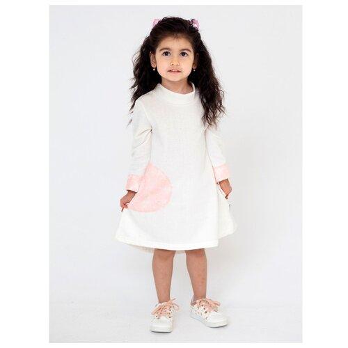 Платье Дашенька размер 92, молочный