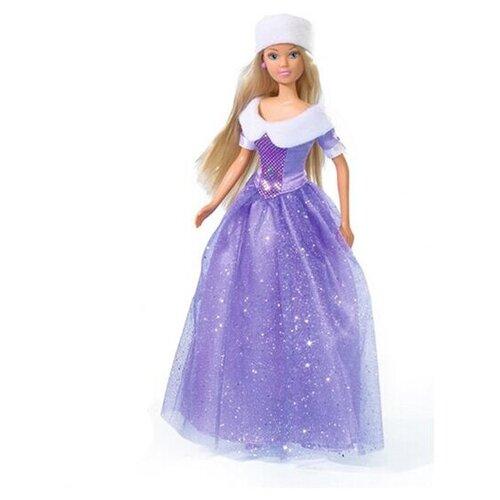 Кукла Steffi Love Штеффи в фиолетовом зимнем наряде, 29 см, 5730664-1