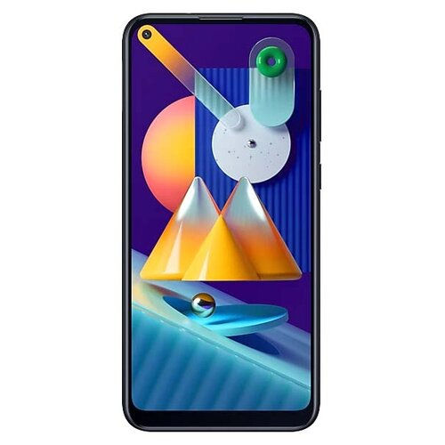 Смартфон Samsung Galaxy M11 черный (SM-M115FZKNSER) смартфон samsung galaxy a70 128 гб черный sm a705fzkmser