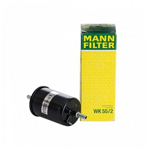 Топливный фильтр MANNFILTER WK55/2 топливный фильтр big filter gb 612