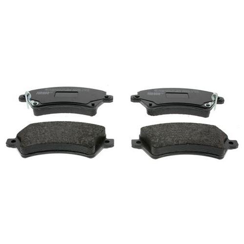Фото - Дисковые тормозные колодки передние Ferodo FDB1573 для Toyota Corolla (4 шт.) дисковые тормозные колодки передние ferodo fdb1639 для toyota subaru 4 шт