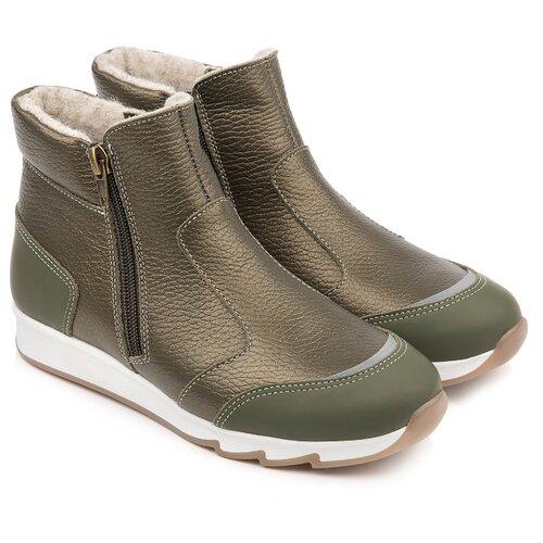 Ботинки Tapiboo размер 33, хаки металлик ботинки tapiboo размер 33 хаки металлик