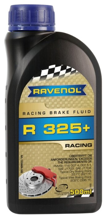 Тормозная жидкость Ravenol Racing Brake Fluid R325+ 0.5 л