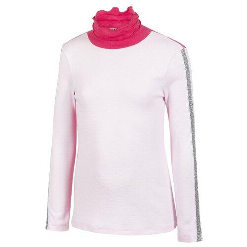 Купить Водолазка M&D размер 134, светло-розовый, Свитеры и кардиганы