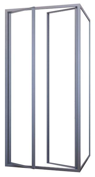 Душевой уголок GuteWetter Practic Square GK-402 R 110см*110см