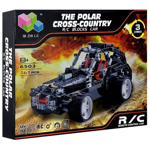Конструктор Qi Zhi Le R/C Blocks Car 6503 The Polar Cross-Country ding guang qi zhi wu zhong ming shi