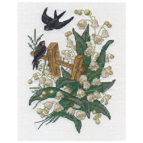 Купить OT-1362 Набор для вышивания PANNA 'Ласточки', Наборы для вышивания