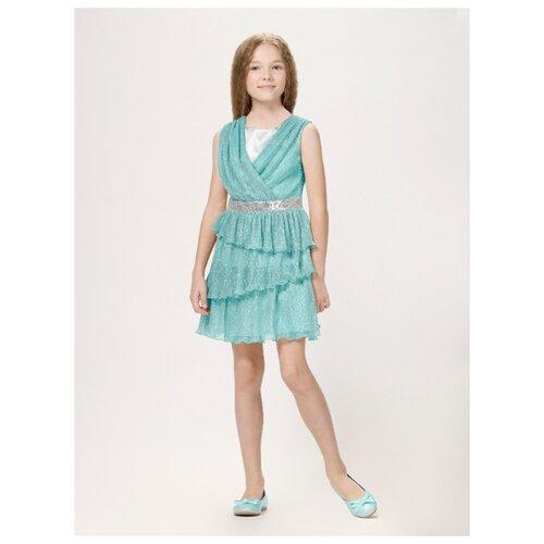 Купить Платье Смена размер 152/76, бирюзовый, Платья и сарафаны