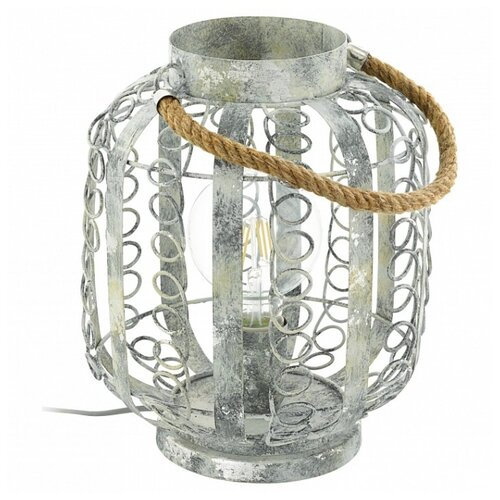 Настольная лампа Eglo Hagley 49134, 60 Вт настольная лампа eglo chester 49385 60 вт