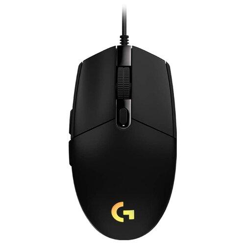 Мышь Logitech G G102 Lightsync, черный