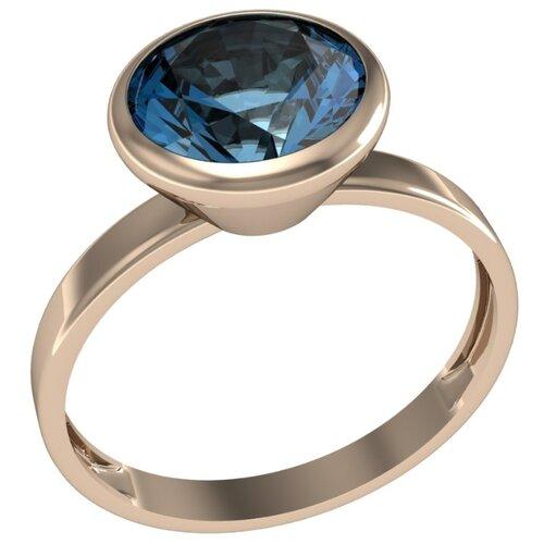 Фото - Приволжский Ювелир Кольцо с 1 алпанитом из серебра с позолотой 262708-FA77, размер 17 приволжский ювелир кольцо с 1 алпанитом из серебра с позолотой 272158 fa77 размер 18