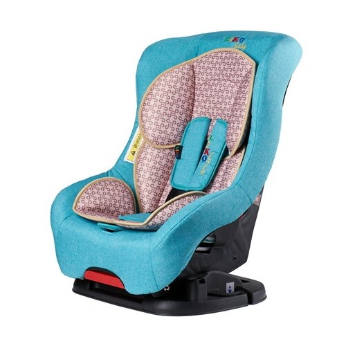 Купить Автокресло группа 1 (9-18 кг) Liko Baby LB-302, волна/лен, Автокресла