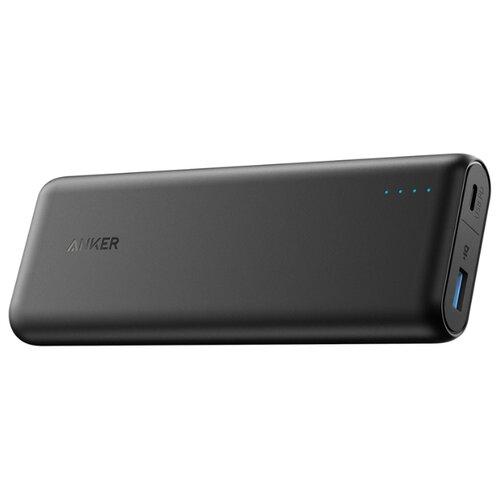 Аккумулятор ANKER PowerCore Speed 20000 PD черный внешний аккумулятор anker powercore external battery 15600mah черный