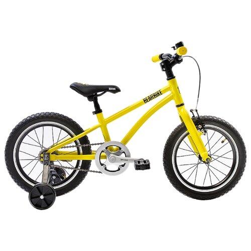 цена на Детский велосипед BearBike Китеж 16 1s coaster жёлтый (требует финальной сборки)