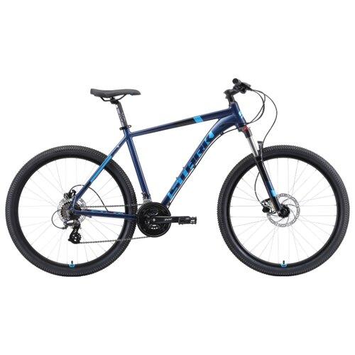 Горный (MTB) велосипед STARK Router 27.3 HD (2019) голубой/черный 22 (требует финальной сборки)