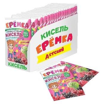 Кисель Еремка плодово-ягодный витаминизированный детский моментального приготовления 500 г